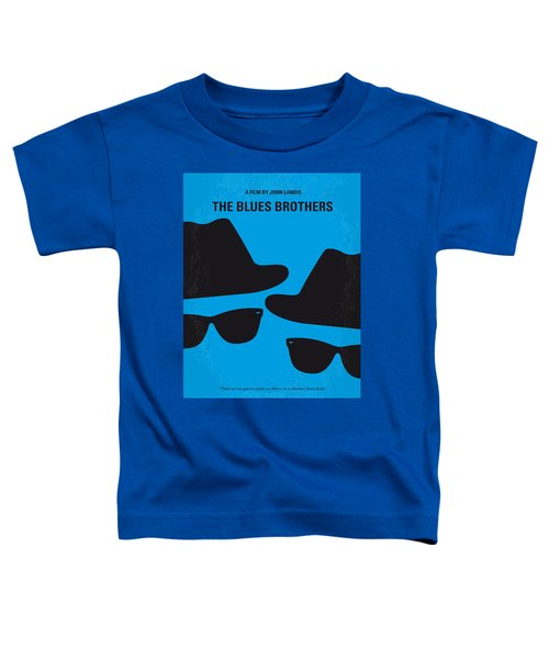 No012 My Blues Brother Minimal Movie Poster Toddler T-Shirt