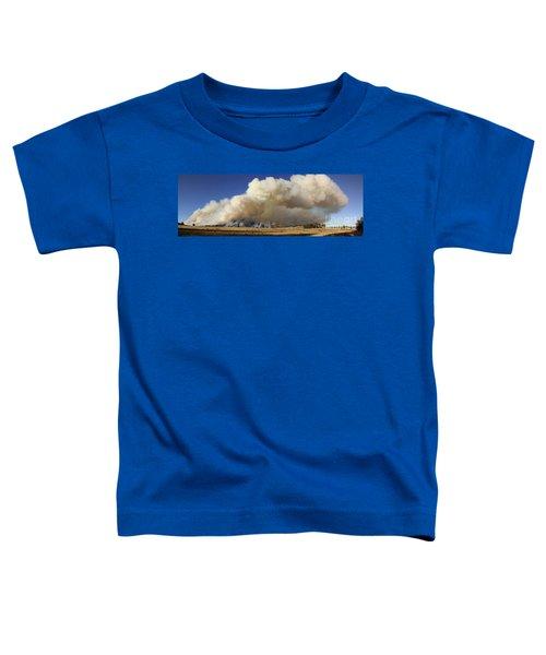 Norbeck Prescribed Fire Smoke Column Toddler T-Shirt