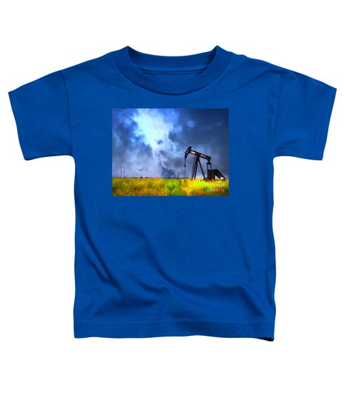 Oil Pump Field Toddler T-Shirt