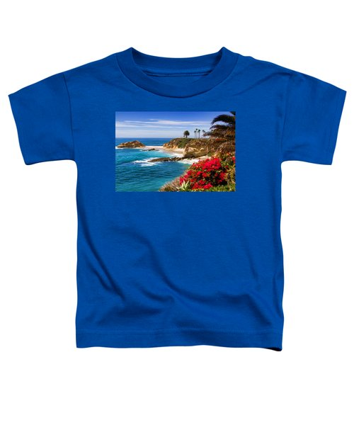 Orange County Coastline Toddler T-Shirt