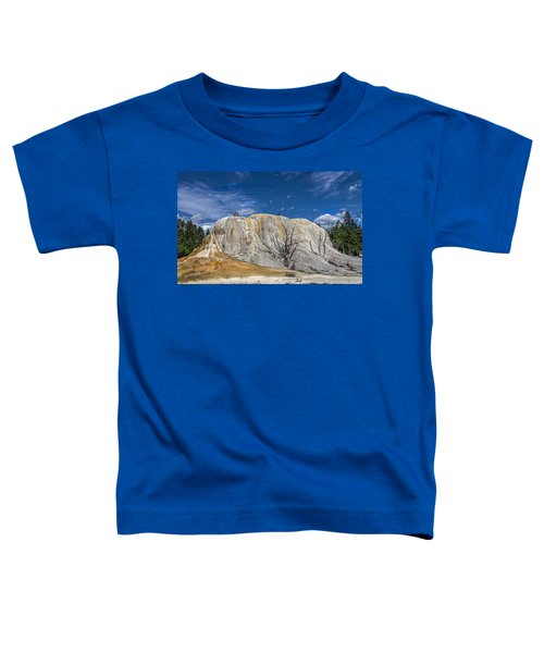 Orange Spring Mound Yellowstone National Park Toddler T-Shirt