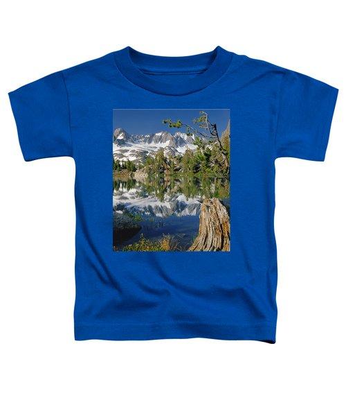 2m6443-v-palisade Peaks And Summit Lake V Toddler T-Shirt