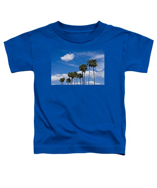 Palm Trees In San Diego California No. 1661 Toddler T-Shirt