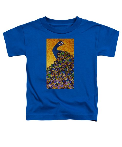 Peacock Blue Toddler T-Shirt