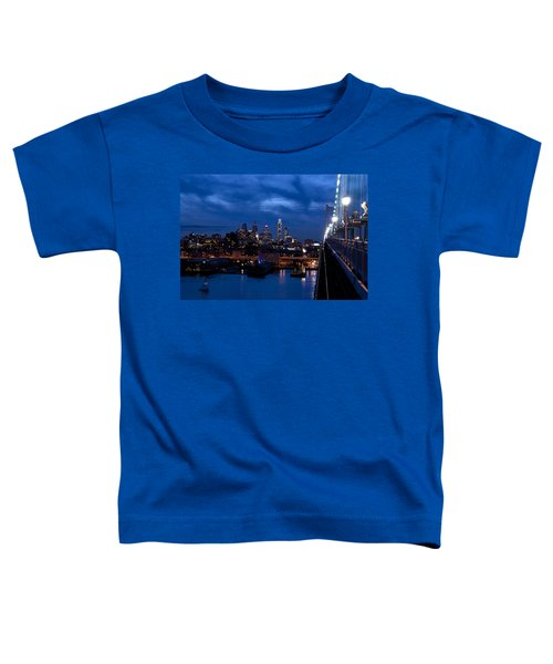 Philadelphia Twilight Toddler T-Shirt