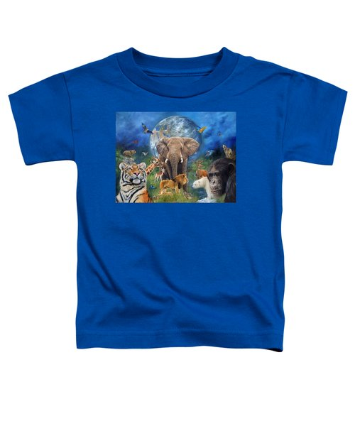 Planet Earth Toddler T-Shirt