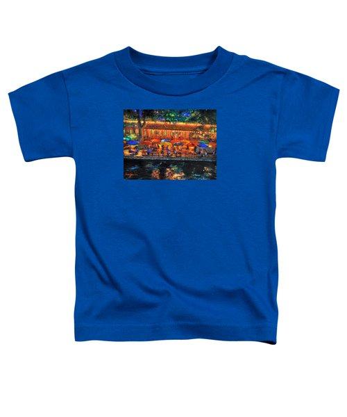 Da190 River Walk By Daniel Adams Toddler T-Shirt
