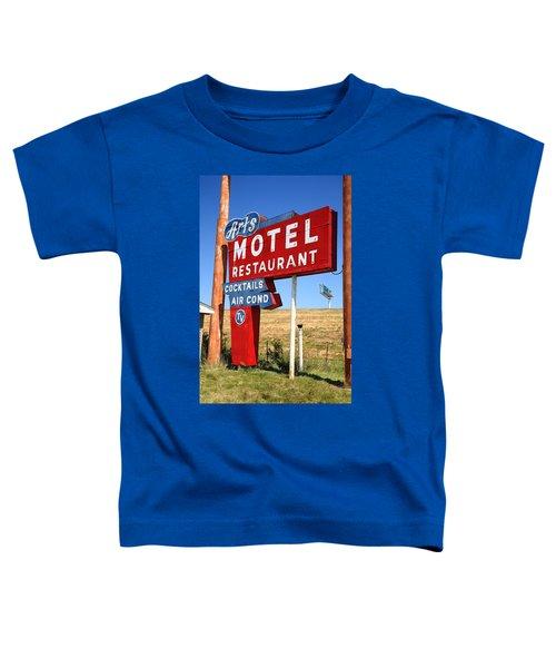 Route 66 - Art's Motel Toddler T-Shirt