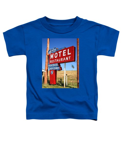 Route 66 - Art's Motel Toddler T-Shirt