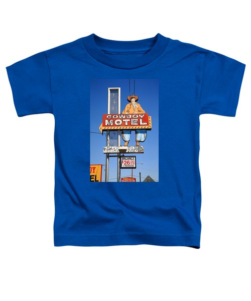 Route 66 - Cowboy Motel Toddler T-Shirt