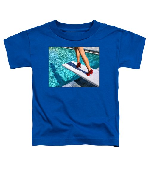 Ruby Heels Ready For Take-off Palm Springs Toddler T-Shirt