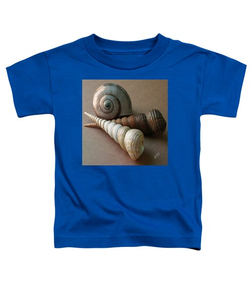 Seashells Spectacular No 29  Toddler T-Shirt
