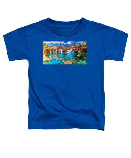 Serene Green Waters Toddler T-Shirt