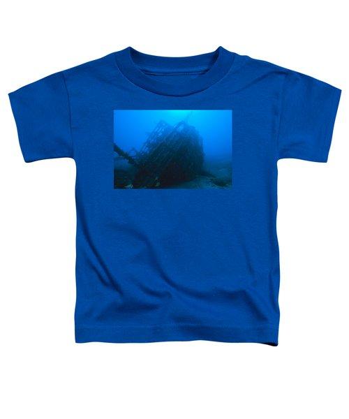 Shipwreck On Govenors River Walk Toddler T-Shirt