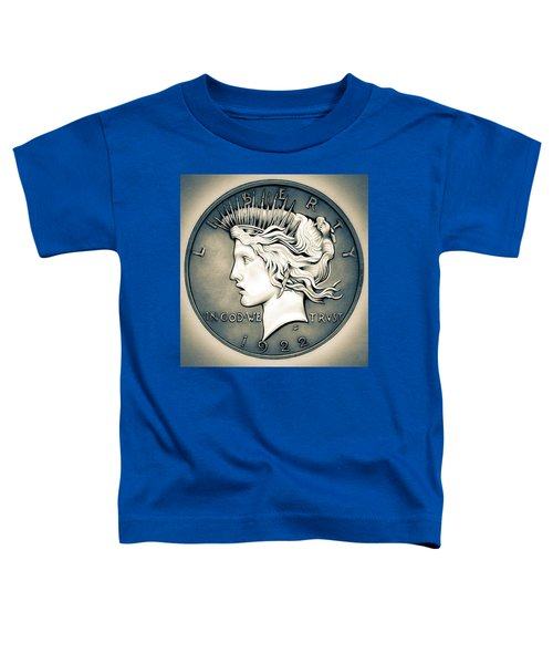1922 Silver Proof Peace Dollar Toddler T-Shirt