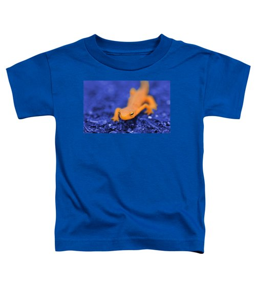 Sly Salamander Toddler T-Shirt by Luke Moore
