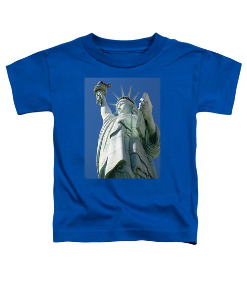 Statue Of Liberty Toddler T-Shirt