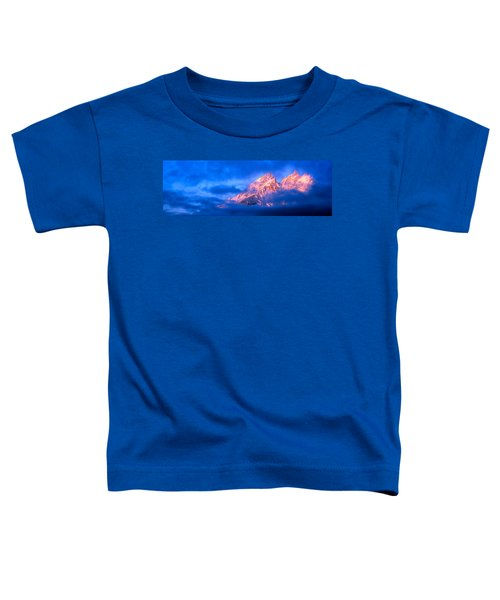 Storm Clouds Over Mountains, Cathedral Toddler T-Shirt