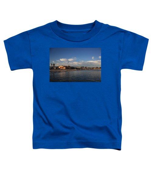 Summer Evenings In Santa Cruz Toddler T-Shirt