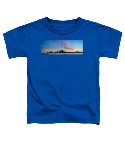 Toddler T-Shirt featuring the photograph Sunset Over Cabo by Sebastian Musial