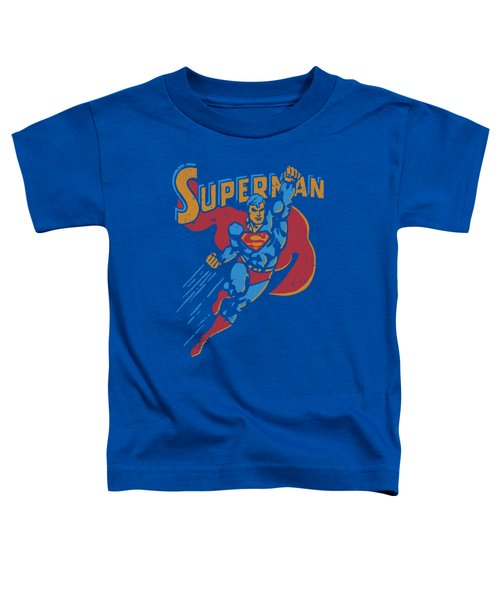 Superman - Life Like Action Toddler T-Shirt