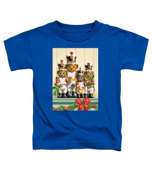 Teddy Bear Band Toddler T-Shirt