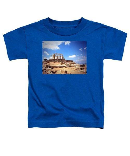 Temple Of Poseidon Vignette Toddler T-Shirt
