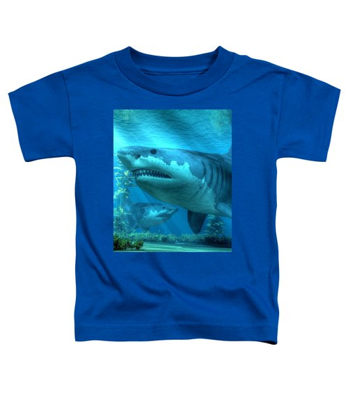 The Biggest Shark Toddler T-Shirt