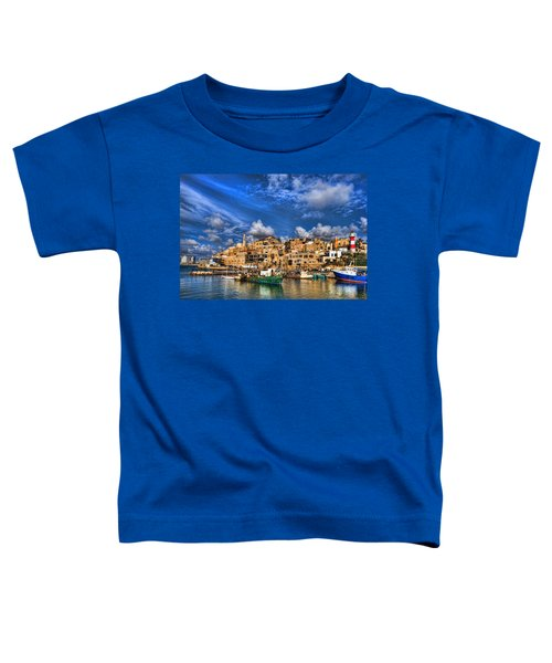 the old Jaffa port Toddler T-Shirt