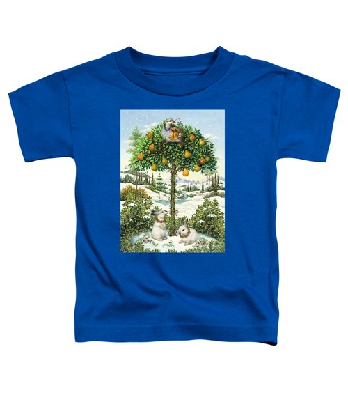 The Partridge In A Pear Tree Toddler T-Shirt