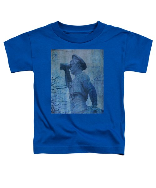 The Seaman In Blue Toddler T-Shirt