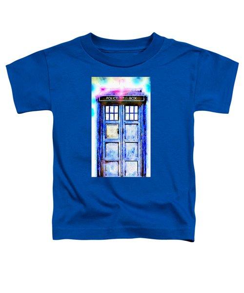 The Tardis Toddler T-Shirt