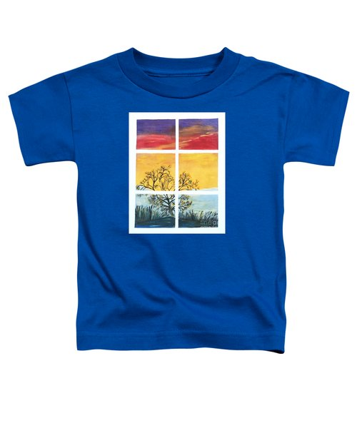 Tranquil View Toddler T-Shirt