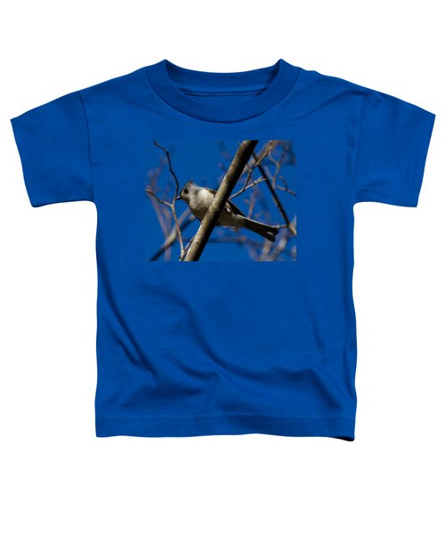 Tufted Titmouse Toddler T-Shirt