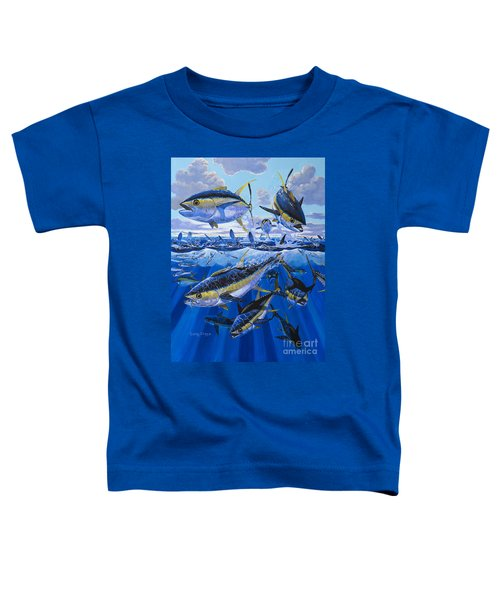 Tuna Rampage Off0018 Toddler T-Shirt by Carey Chen