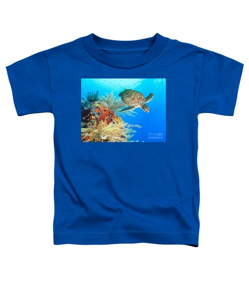 Turtle And Coral Toddler T-Shirt