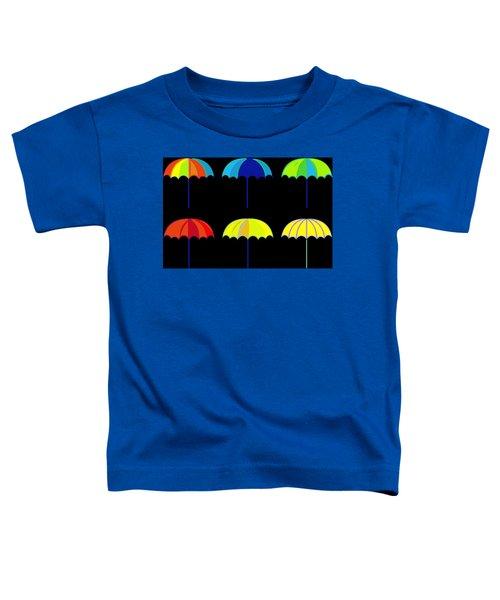 Umbrella Ella Ella Ella Toddler T-Shirt by Florian Rodarte