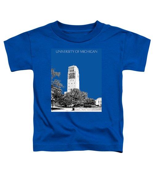 University Of Michigan - Royal Blue Toddler T-Shirt