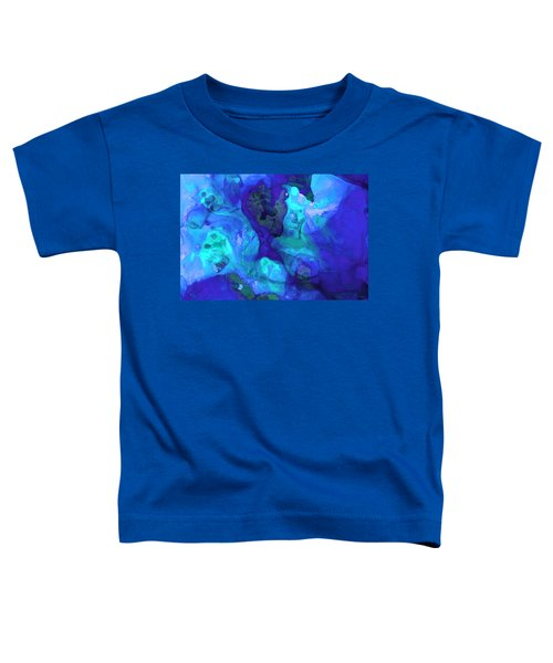 Violet Blue - Abstract Art By Sharon Cummings Toddler T-Shirt