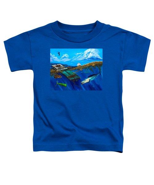 Wahoo Under Board Toddler T-Shirt