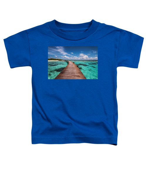 Walk Over The Water Toddler T-Shirt