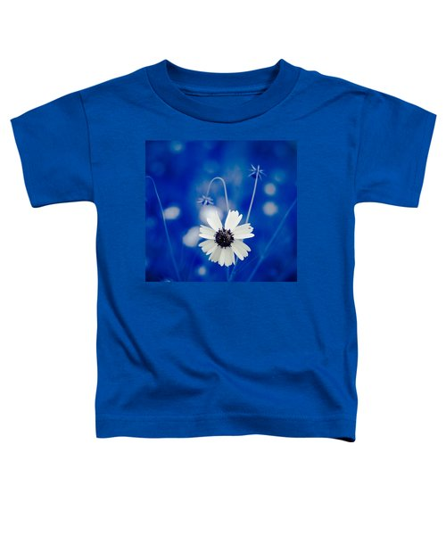 White Flower Toddler T-Shirt