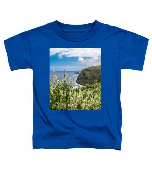 Wild Flowers At Pololu Toddler T-Shirt