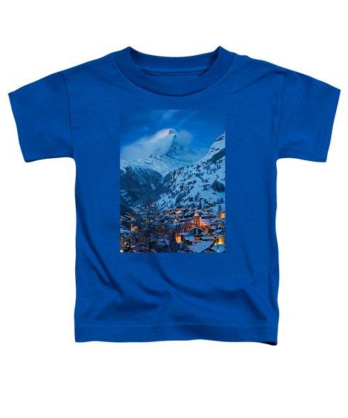 Zermatt - Winter's Night Toddler T-Shirt