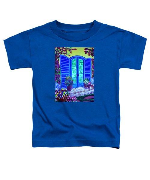 Blue Shutters Toddler T-Shirt
