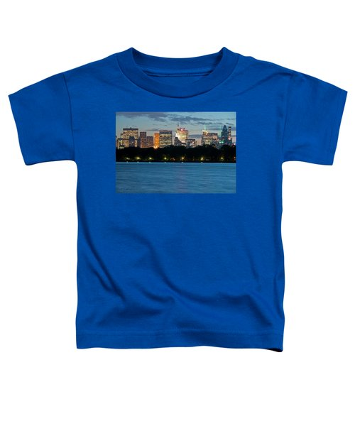Great Pond Skyline Toddler T-Shirt