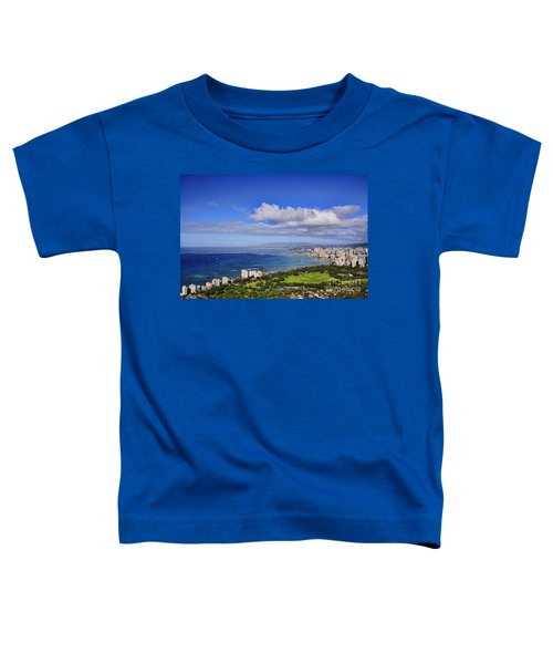 Honolulu From Diamond Head Toddler T-Shirt