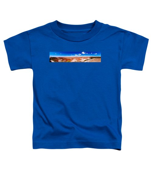 Painted Desert Wide Panorama Toddler T-Shirt