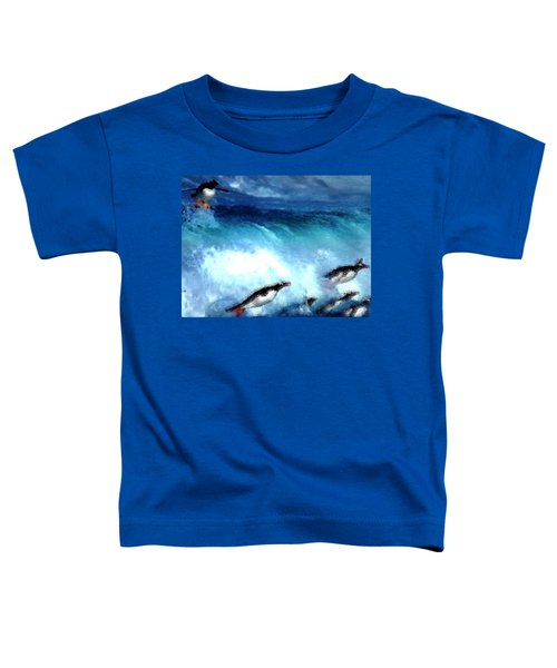 Penquin Play Toddler T-Shirt