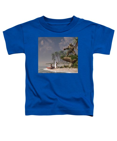 The Surf God   Toddler T-Shirt